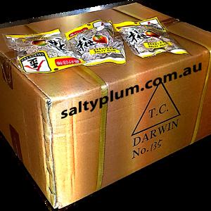 100pk seedless salty plums golden yeh